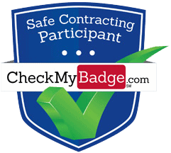 check my badge